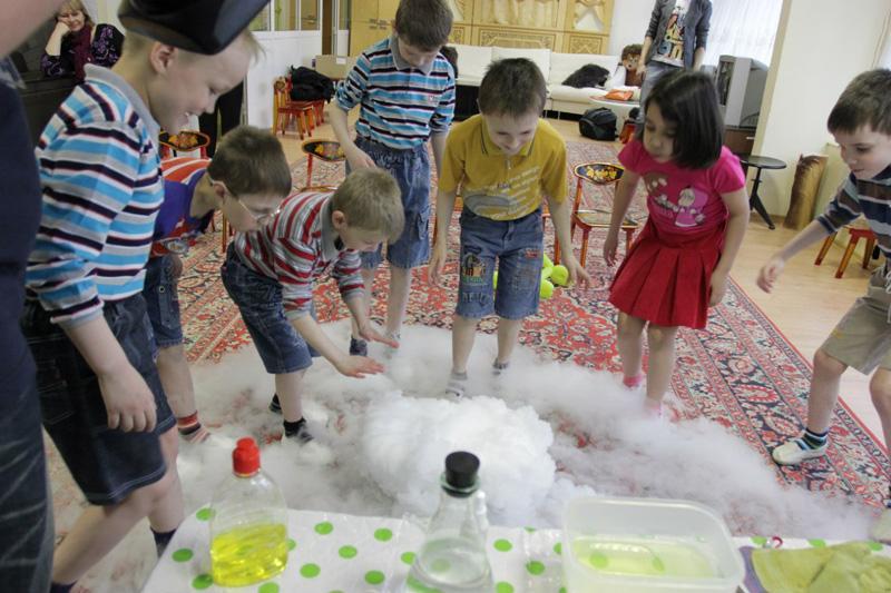 Химическое шоу для детей как сделать своими руками